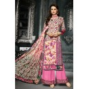Ethnic Wear Multicolour Crepe Silk Palazzo Suit  - 719