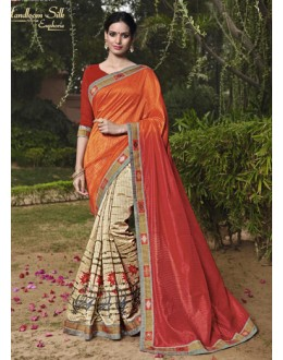 Ethnic Wear Salem Silk Saree - VIPUL-30321