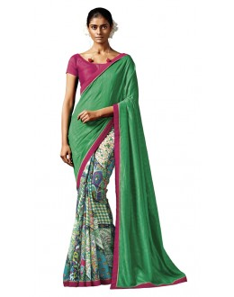 Casual Wear Multi-Colour Silk Saree - HAWWAH-805