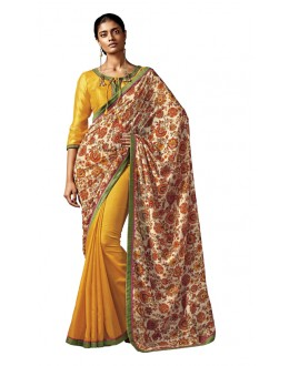 Casual Wear Multi-Colour Silk Saree - HAWWAH-813