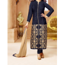 Party Wear Gorgeous Blue Georgette Salwar Suit - EF144
