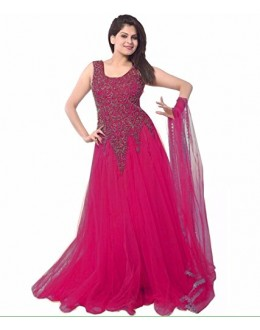 Party Wear Pink Georgette Salwar Suit - EF103