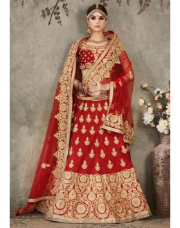 Wedding Wear Red Lehenga Choli - SASYA-2305