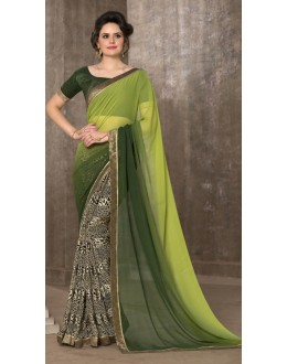 Casual Wear Multi-Colour Saree - 2952