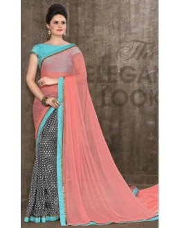Ethnic Wear Multi-Colour Saree - 2955