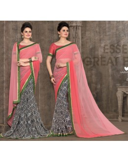 Ethnic Wear Multi-Colour Saree - 2959