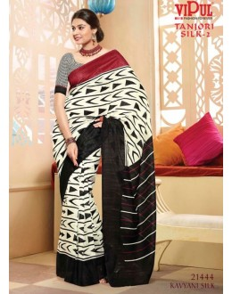 Casual Wear Multi-Colour Saree  - VIPUL-21444