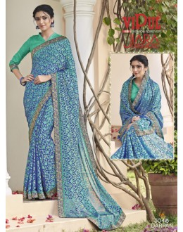 Casual Wear Multi-Colour Saree  - VIPUL-30418
