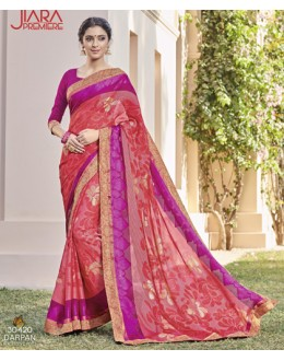 Casual Wear Multi-Colour Saree  - VIPUL-30420