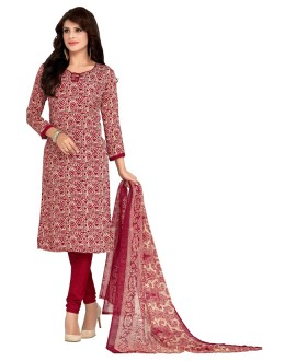 Office Wear Maroon Salwar Suit  - 5032