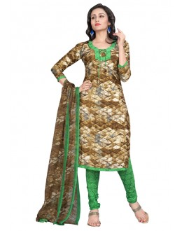 Casual Wear Multi-Colour Salwar Suit  - 6001