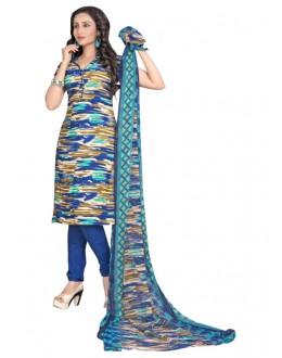 Casual Wear Multi-Colour Salwar Suit  - 6003