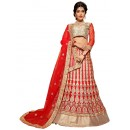 Bridal Wear Red Net Lehenga Choli - ROOP NIKHAR81