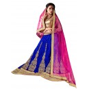 Ethnic Wear Net Blue Lehenga Choli - ALISHA 35110