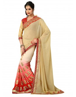 Designer Party Wear Shaded Saree-H01(ST-JHALAK)