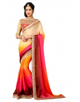 Designer Party Wear Shaded Saree-H05(ST-JHALAK)