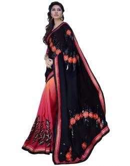 Designer Party Wear Muticolor Saree-1703( ST-SIGNATURE-2)