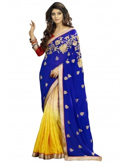 Designer Party Wear Muticolor Saree-1706( ST-SIGNATURE-2)