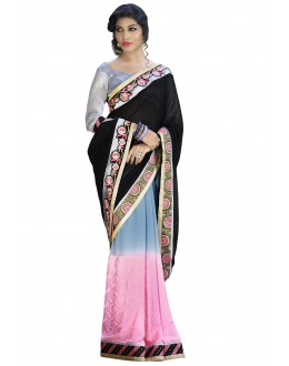 Designer Party Wear Muticolor Saree-1712(ST-SIGNATURE-2)