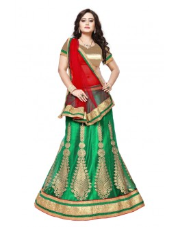 Designer Sea Green Net Lehenga Choli - SAI NX5103