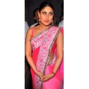 Bollywood Replica - Kareena Kapoor Designer Pink Shaded Net Saree Replica - MME-7406