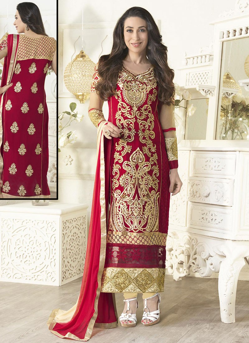 0540466711 karisha-kapoor-inimitable-red-cream-georgette-wedding-salwar-kameez-800x1100.jpg